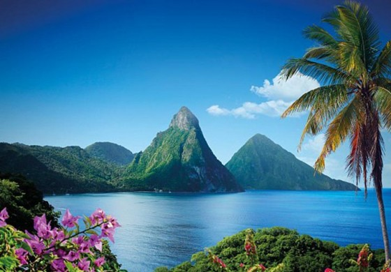 "Saint Lucia in top three ""Most Romantic Destination for Honeymoon Travelers"""