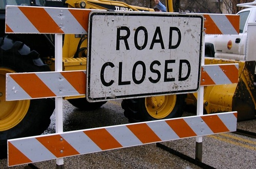 Closure of lower John Compton Highway