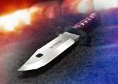 Robbery victim fights back after knife attack