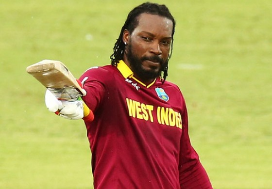 "Gayle brags to female about his ""big bat"""