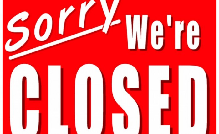 business closed sign 770x470