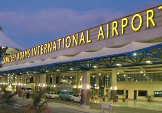 Grantley Adams International Airport Closed