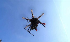 US Drone Makes History