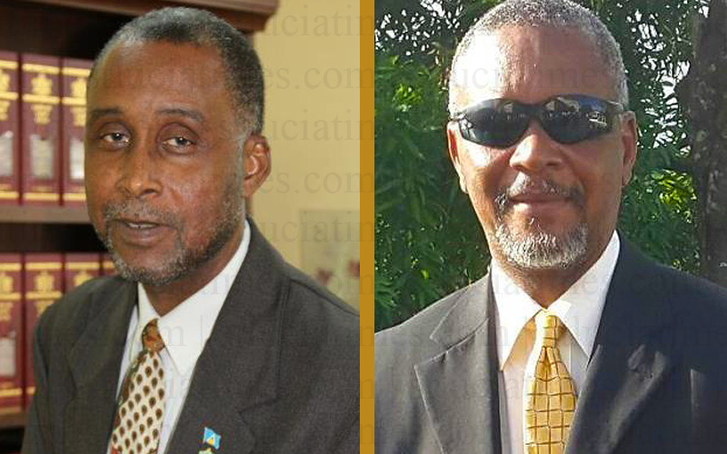 Claudis Francis and Hermangild Francis - St. Lucia Times
