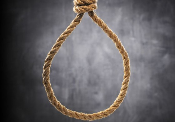 Senior citizen dies from suspected suicide