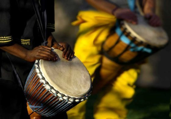 DRUMMING FESTIVAL IN VIEUX FORT NORTH