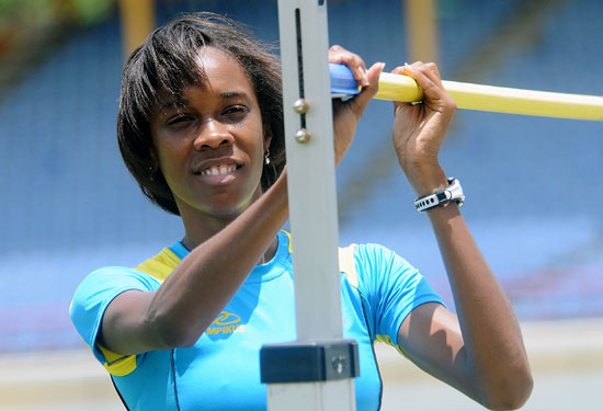 Levern Spencer wins gold at Commonwealth Games