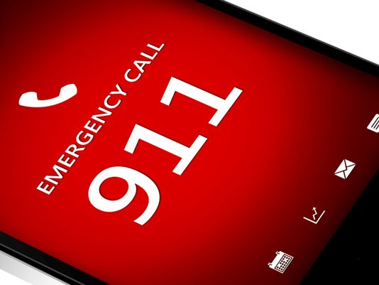 emergency 911 call on cell phone
