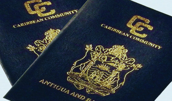 Antigua reports drop in CIP applications