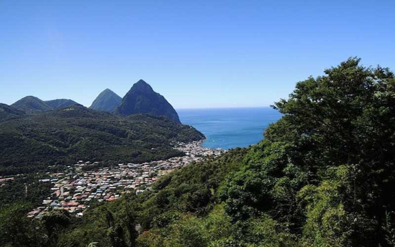 oecs-sustainable-tourism pitons in soufriere
