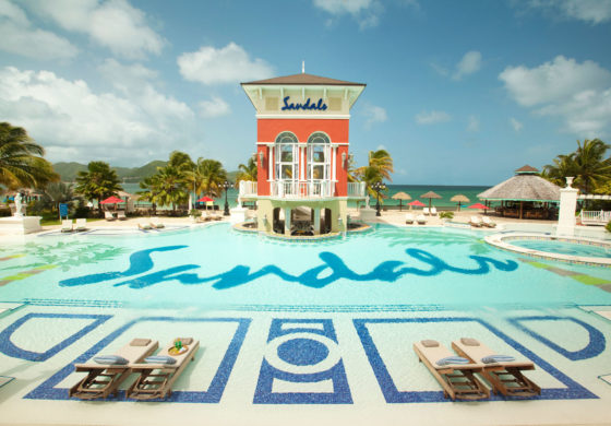 Sandals leading the charge in tourism & construction