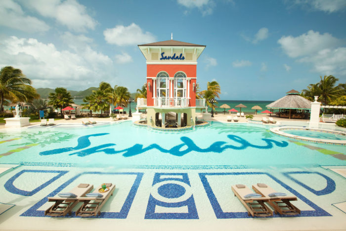 sandals grande st-lucian-pool