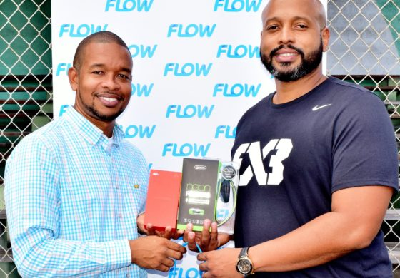 Flow Supports IBF 3×3 Basketball
