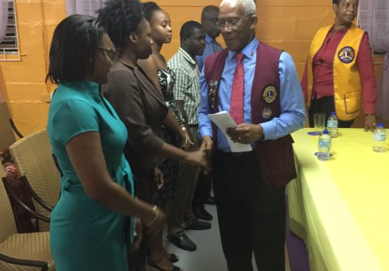 Lions District Governor visits