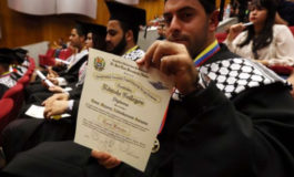 Palestinian engineers and doctors graduated in  Venezuela