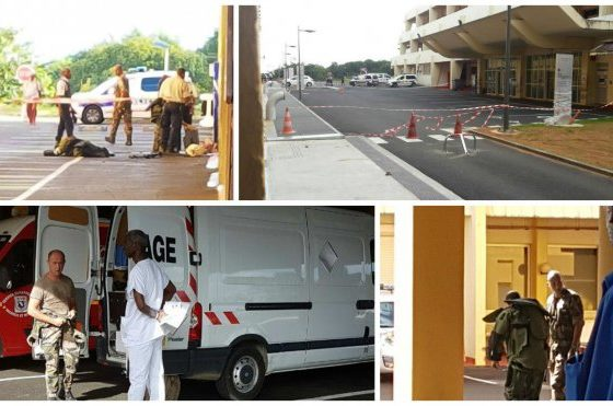Martinique: Authorities blow up suspicious suitcase