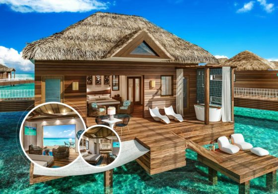 SANDALS RESORTS ANNOUNCES NEW OVERWATER BUNGALOWS IN ST. LUCIA