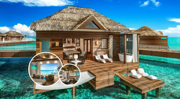 569b15fb4b4 SANDALS RESORTS ANNOUNCES NEW OVERWATER BUNGALOWS IN ST. LUCIA - St ...