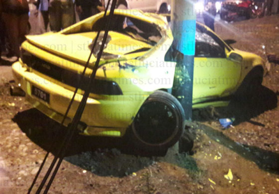 Four injured in separate accidents