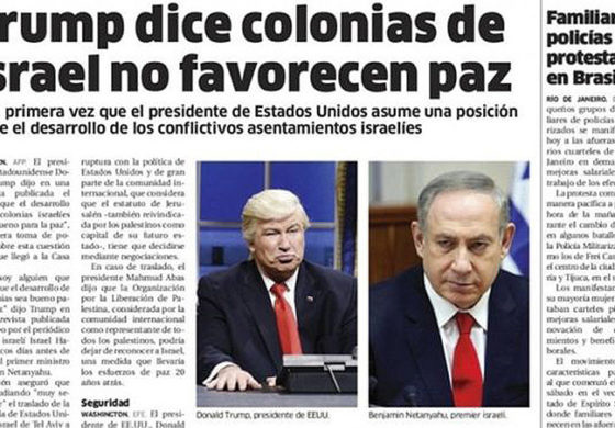 Dominican Republic newspaper mistakes Alec Baldwin for President Trump