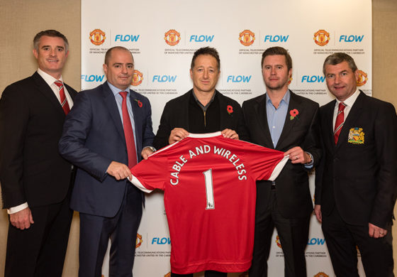 Flow and Manchester United Team up