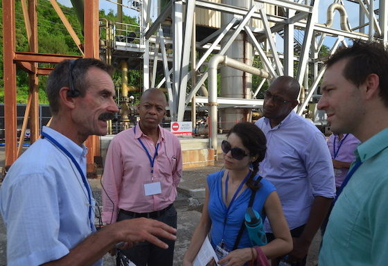 OECS supports Geothermal Energy Development