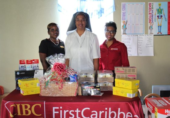CIBC FIRSTCARIBBEAN SUPPORTS HOLY FAMILY CHILDREN'S HOME