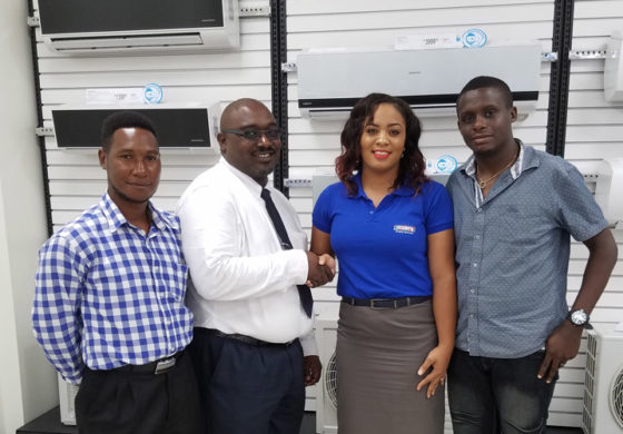 Courts St Lucia Donates AC Unit to Royal Saint Lucia Police Force