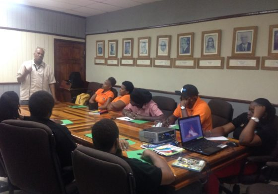 Soufriere FM staff get training
