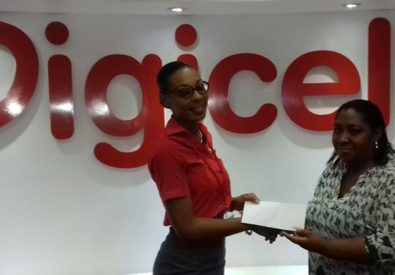 Roseline Deterville Shows Love in Digicel Text to Win