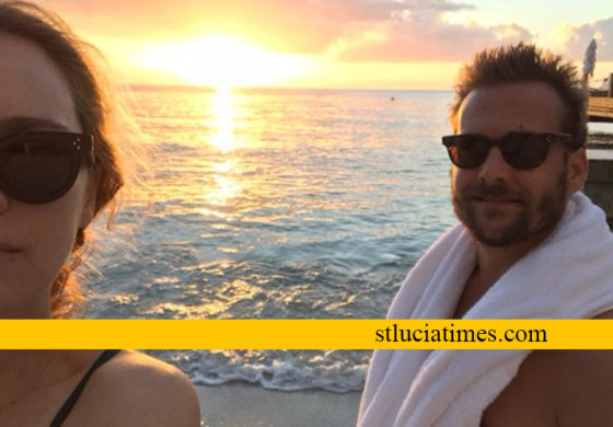 SUITS star Gabriel Macht (known for role as Harvey Specter) visits Saint Lucia