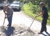 Soufriere Foundation makes roads better