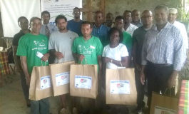 Anse Chastanet/Jade Mountain, Min of Agriculture & CATS Programme partner for Mushroom Cultivation Training