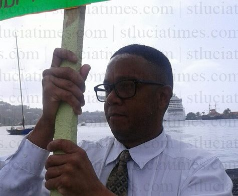 Christopher Hunte continues protest
