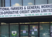 Armed bandit robs National Farmers & General Workers Credit Union