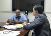 Argentina's Candidate for Director General of IICA Visits Saint Lucia""