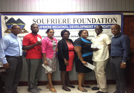 Soufriere Foundation Supports Sports Development in District 8