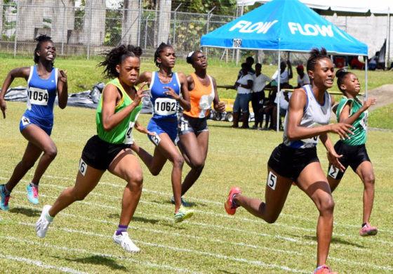 Flow and SLAA Team Up for Track and Field CARIFTA Trials
