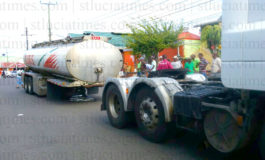 Fuel tank truck mishap in Castries