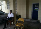 Mold infestation at Choiseul Police station