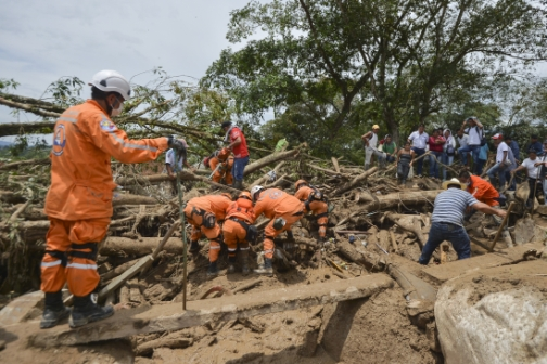 43 children among 254 dead in Colombia mudslide