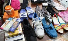 Jamaica police destroy counterfeit goods