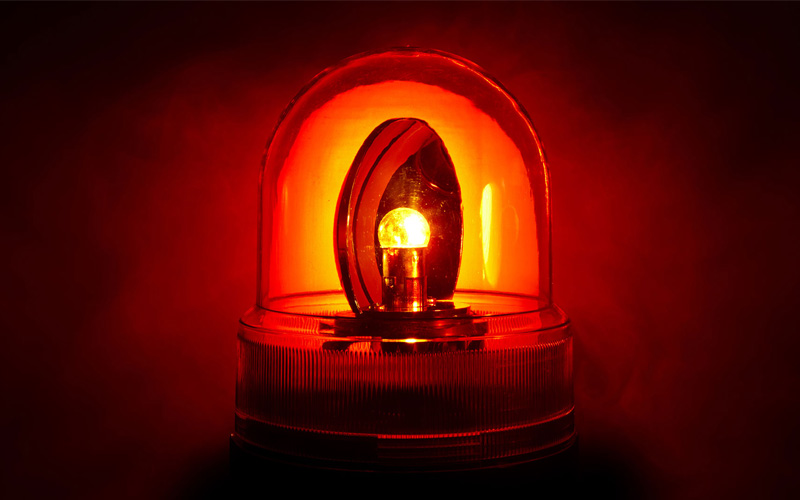 emergency ambulance siren lights