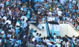 Argentina: Football fan dies after being pushed from stand
