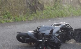 Motorcyclist critical after accident