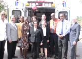 St. Jude Hospital gets ambulance
