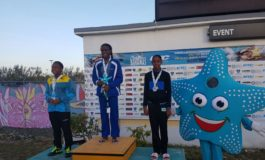 Lightning Aquatics celebrates its 1st Carifta Swimmer