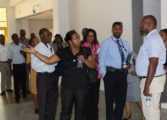 Staff Associations and Unions tour OKEUH