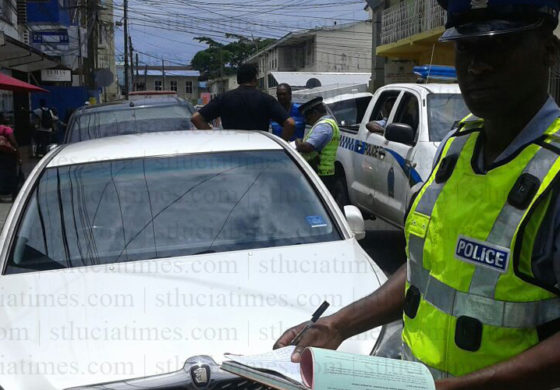 Traffic Police out in force after ticket issue resolved