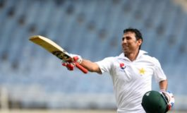 Younis - First Pakistan player to reach 10,000 Test runs